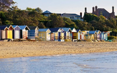 Mornington Peninsula Bathing Boxes